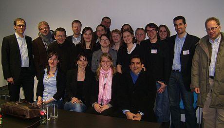 Teilnehmer der Ergebnispräsentation Usability-Studie