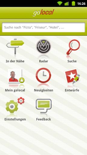 Dein Begleiter für die Hosentasche: Die golocal App für Dein Android Handy